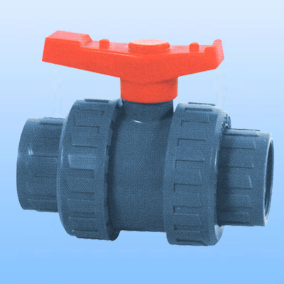 double unions, double union ball valves
